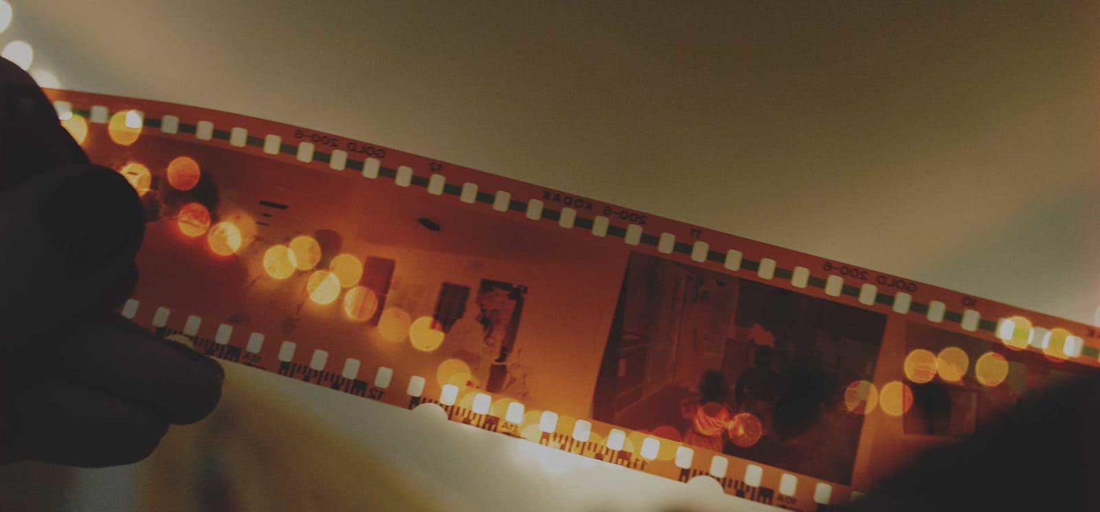 Дизайн креативного постера для кинофестиваля