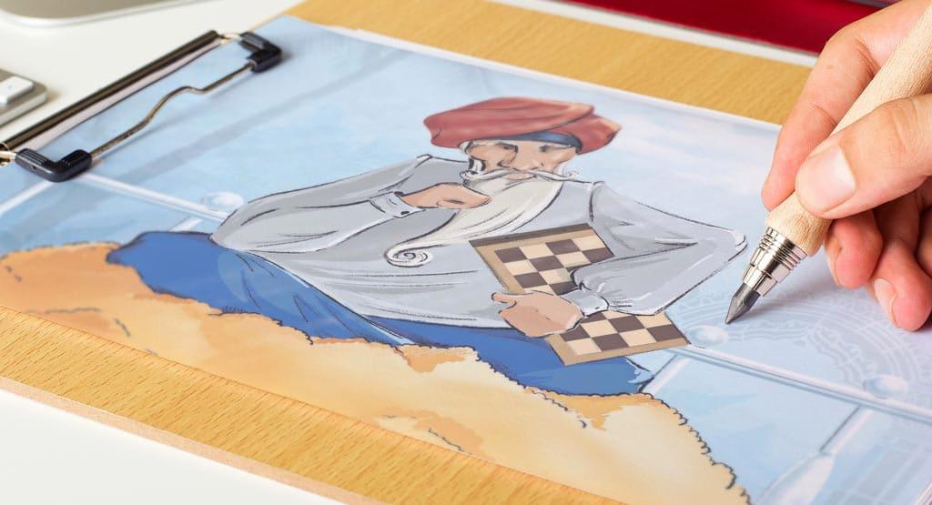 chess_images_2 заказать иллюстрации для книги