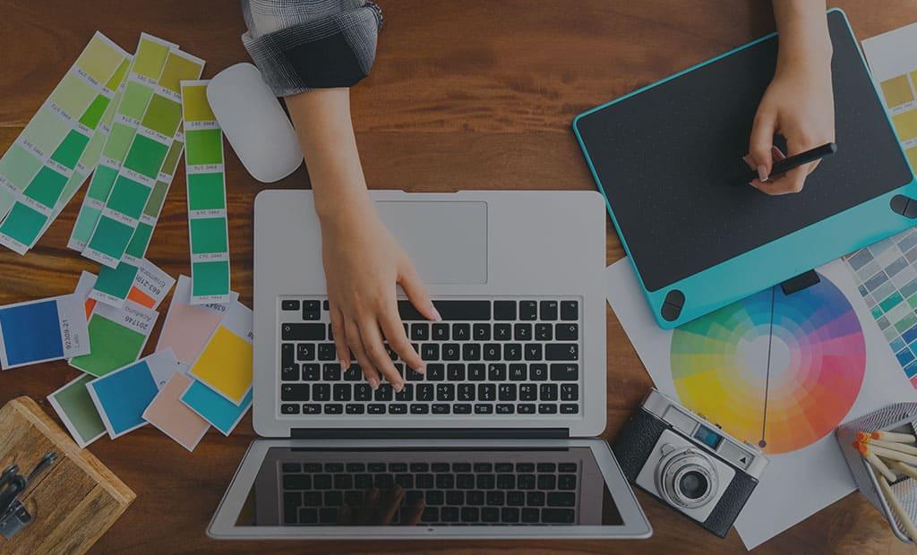 Дизайн интернет сайта и цветовая гамма