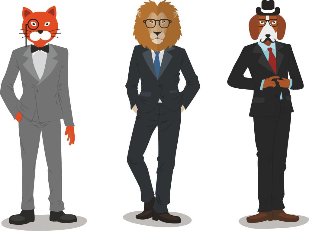 Создание образа персонажа для страховой компании