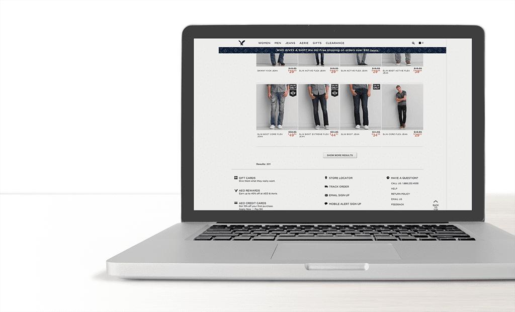"""Создание web дизайна интернет магазина. Пример использования кнопки """"загрузить еще"""""""