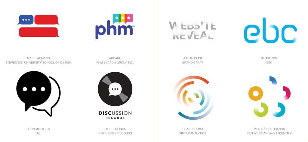 Актуальные тенденции. Тренды в дизайне логотипов 2017 года. Примеры
