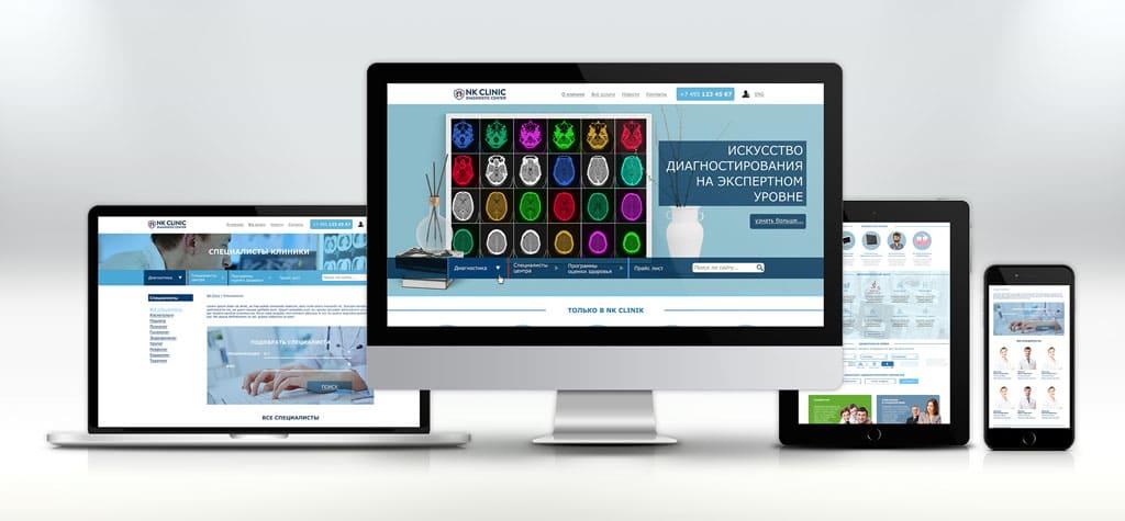 Дизайн сайта клиники дизайн медицинского сайта