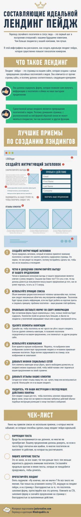 заказать лендинг педж в Москве