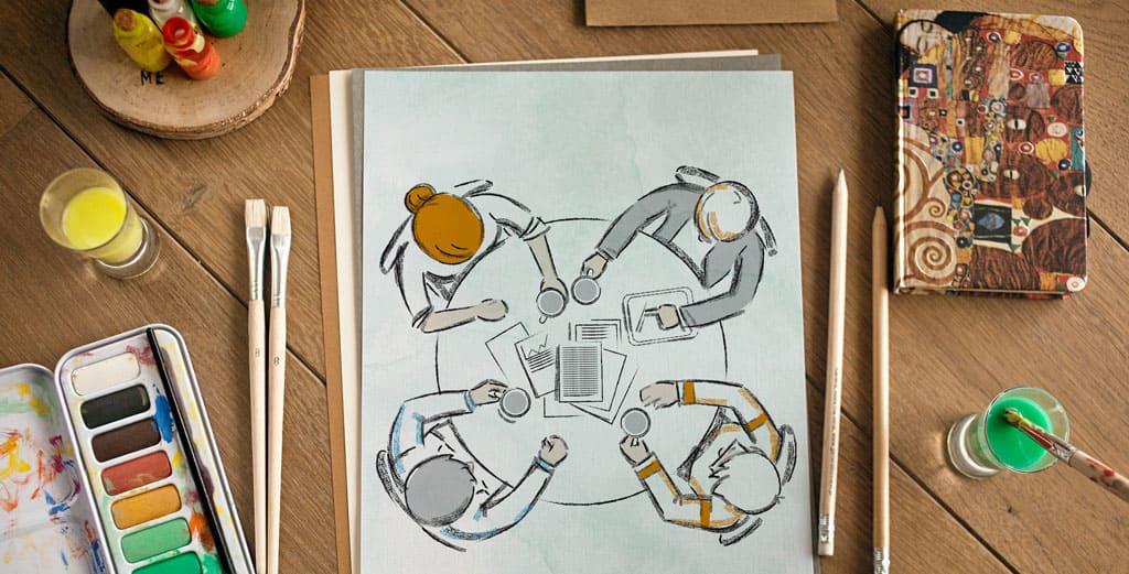 Иллюстрации на заказ для книги фото