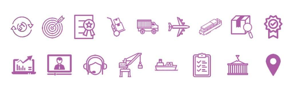 Разработка дизайна фирменного стиля иконографика