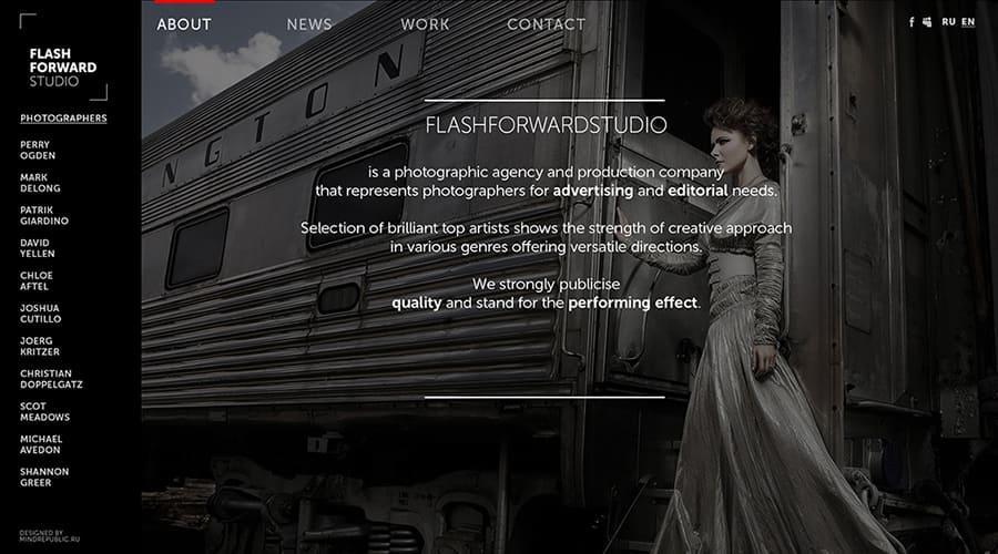 разработать дизайн сайта фото