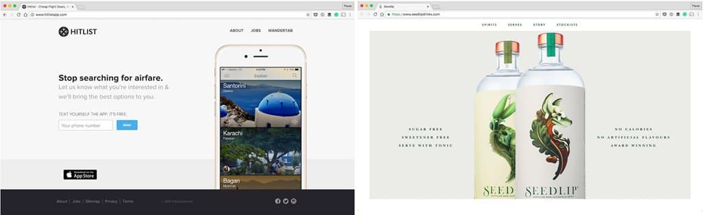 Дизайн сайта компании. Примеры