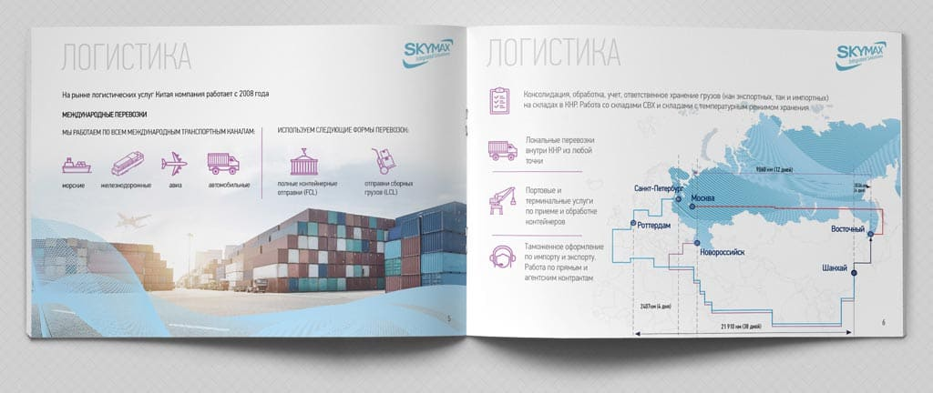дизайн коммерческого предложения и бизнес-презентации