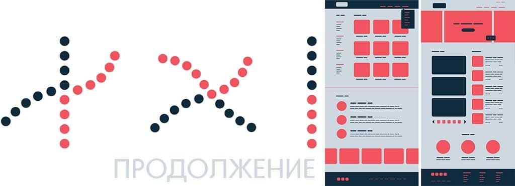 Создание веб-дизайна. Принцип гештальта продолжение