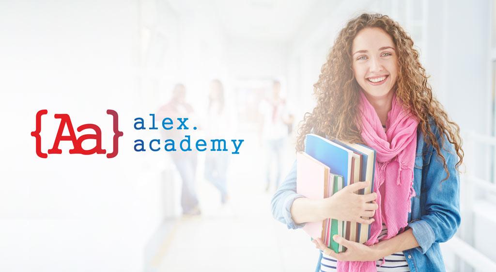 Создание идеи брендинга. логотип IT школы в США