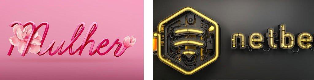 нестандартные тренды брендинга 2019. 3D-объемные картинки