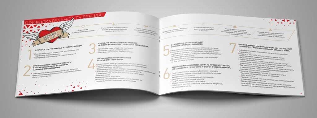 разворот книги с иллюстрацими на заказ
