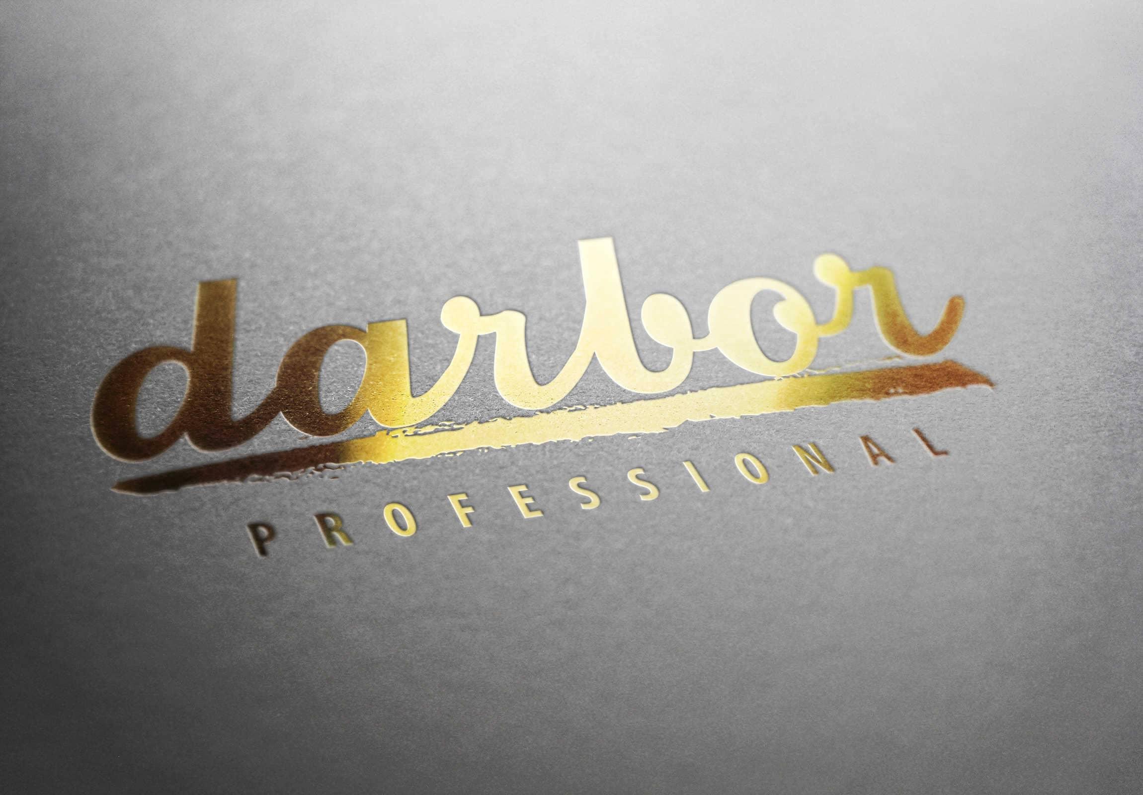 Брендинг компании Darbor разработка логотипа