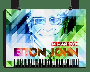 Постер Элтон Джон - иконка