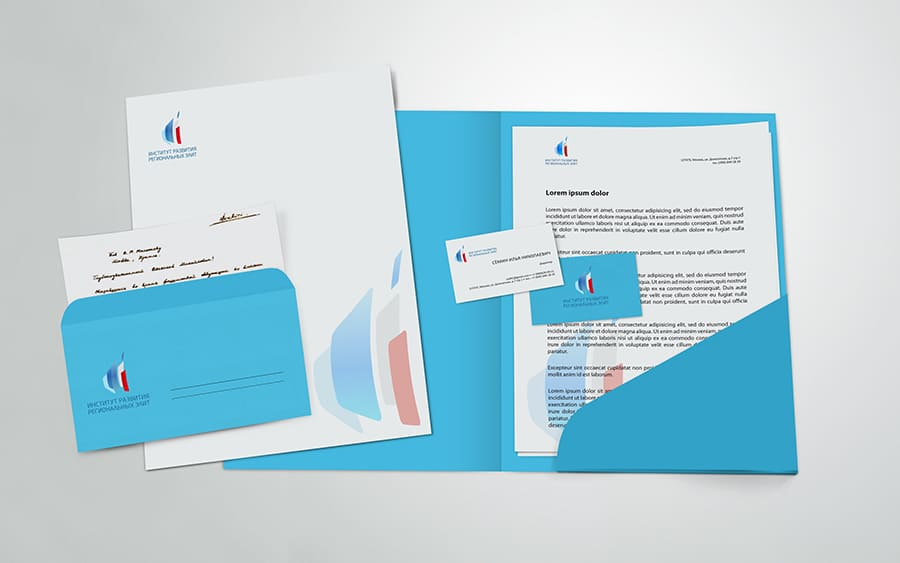 Разработка логотипа Института развития региональных Элит