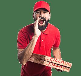 Дизайн рекламных материалов для пиццерии - иконка