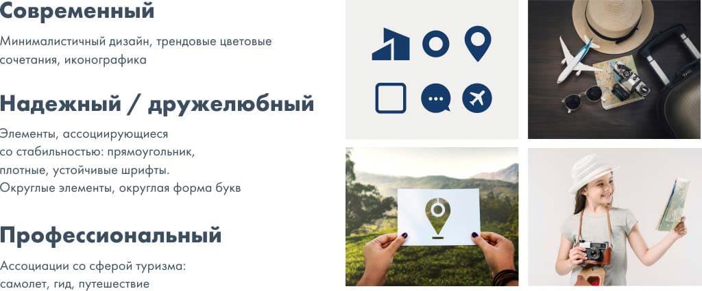 символы для брендинга туристической компании