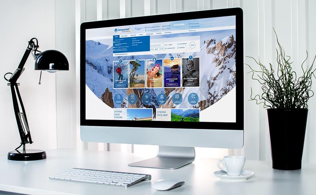 презентация работы - дизайн главной страницы сайта