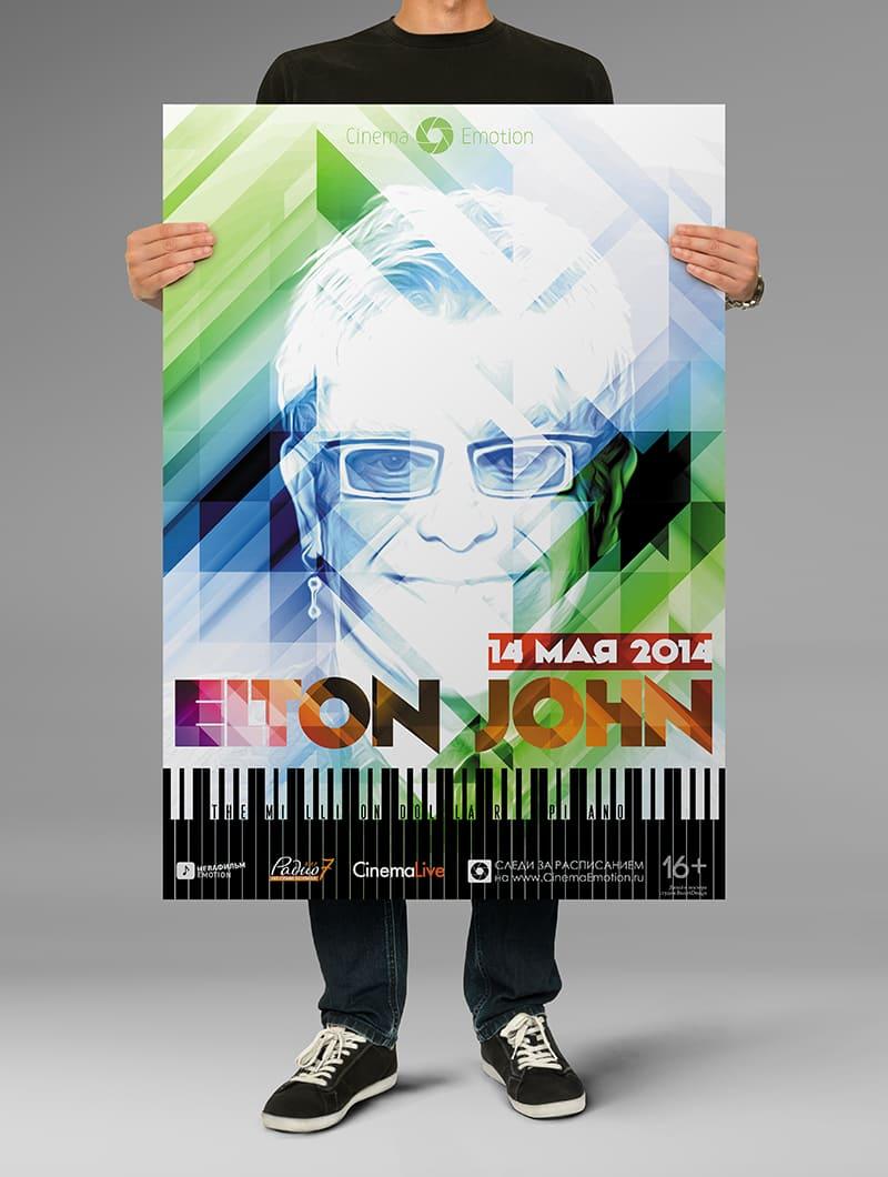 Постер Элтон Джон