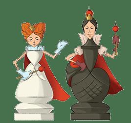 Дизайн и иллюстрации для шахматного учебника иконка