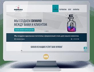 Сайт компании Формула Имиджа
