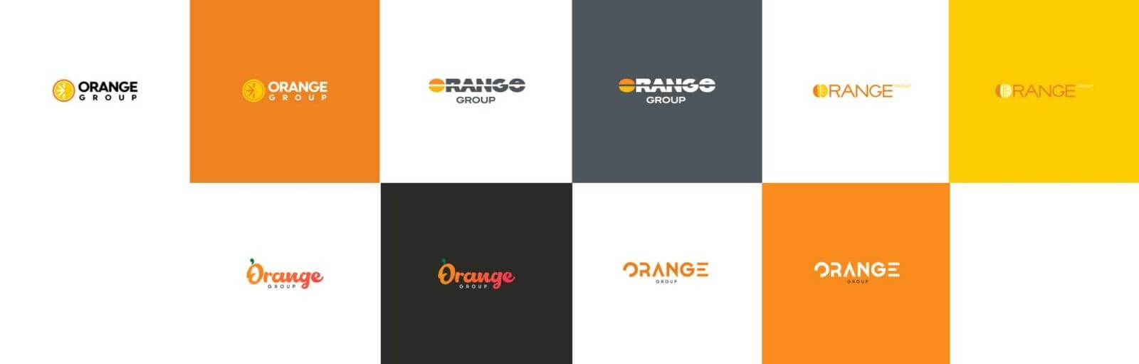 логотип группы компаний. Эскизы и версии логотипа