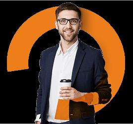Брендинг группы компаний Orange иконка