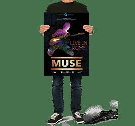 Дизайн постера Muse - иконка