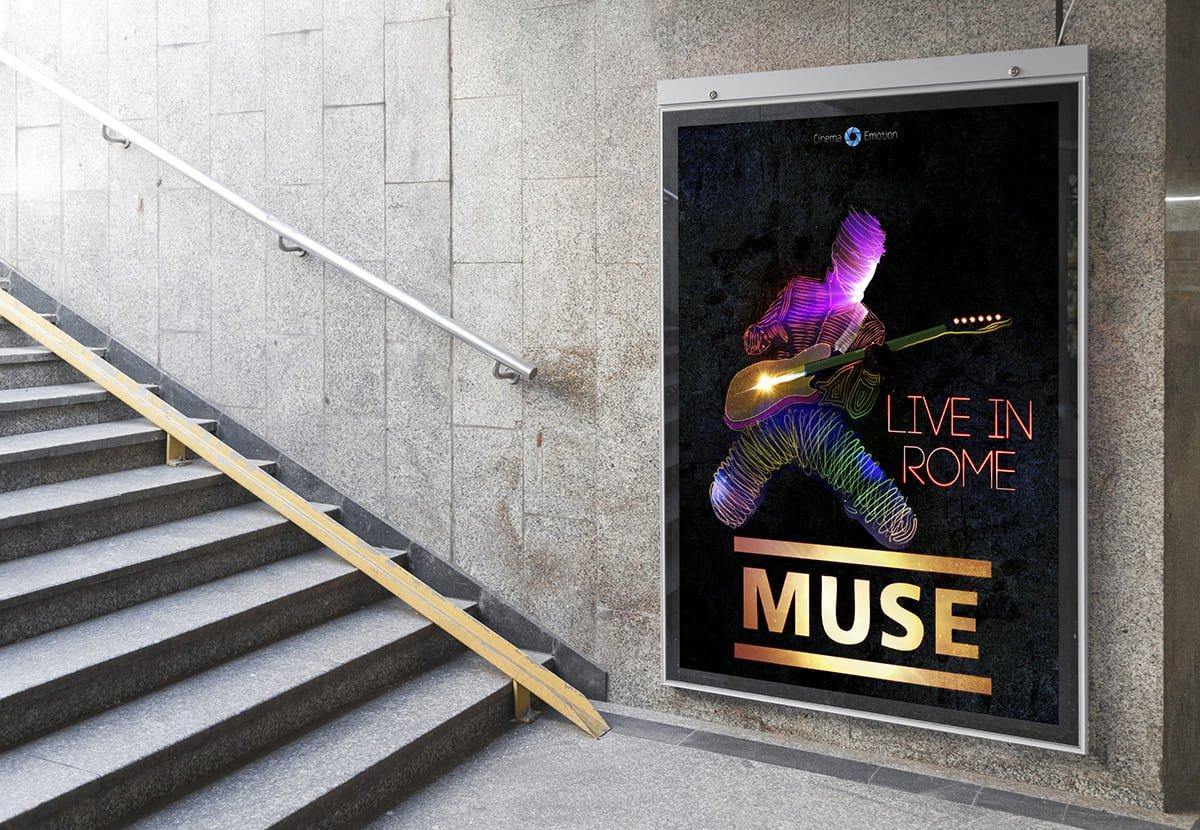 Дизайн постера Muse - фотография