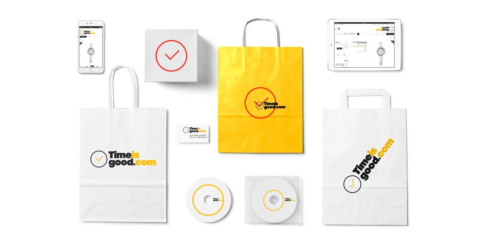 Создание логотипа компании. Магазин часов из США.