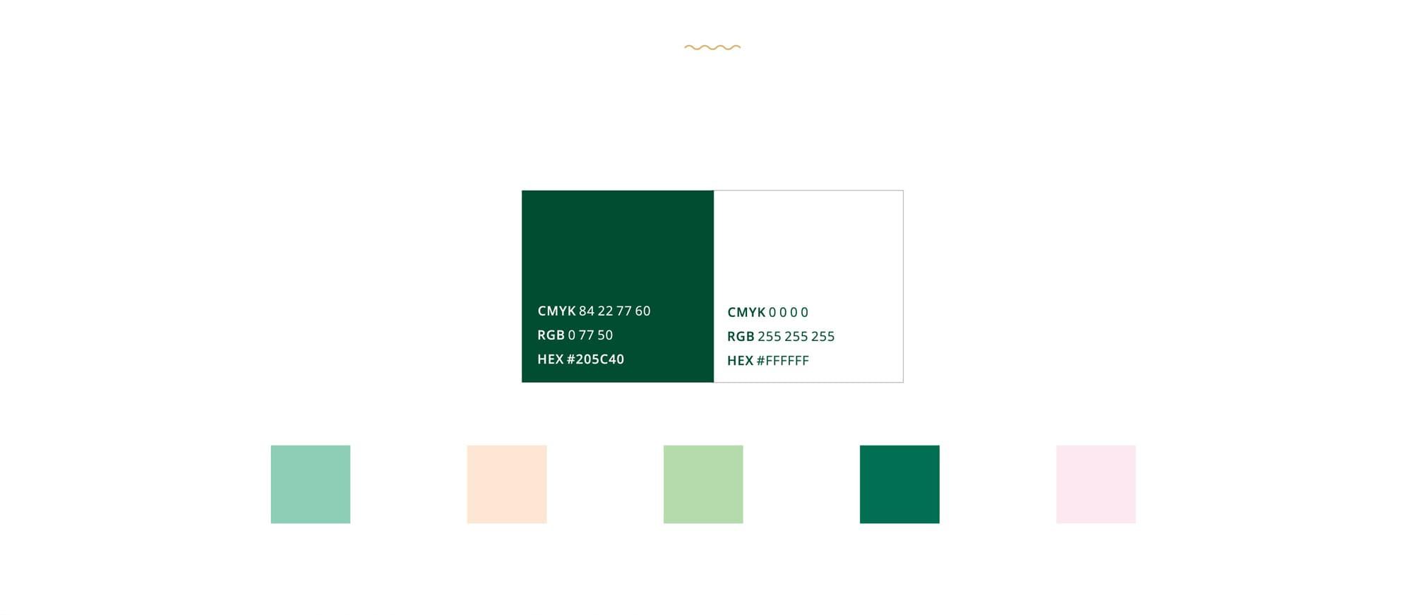 брендинг под ключ цветовая гамма логотипа