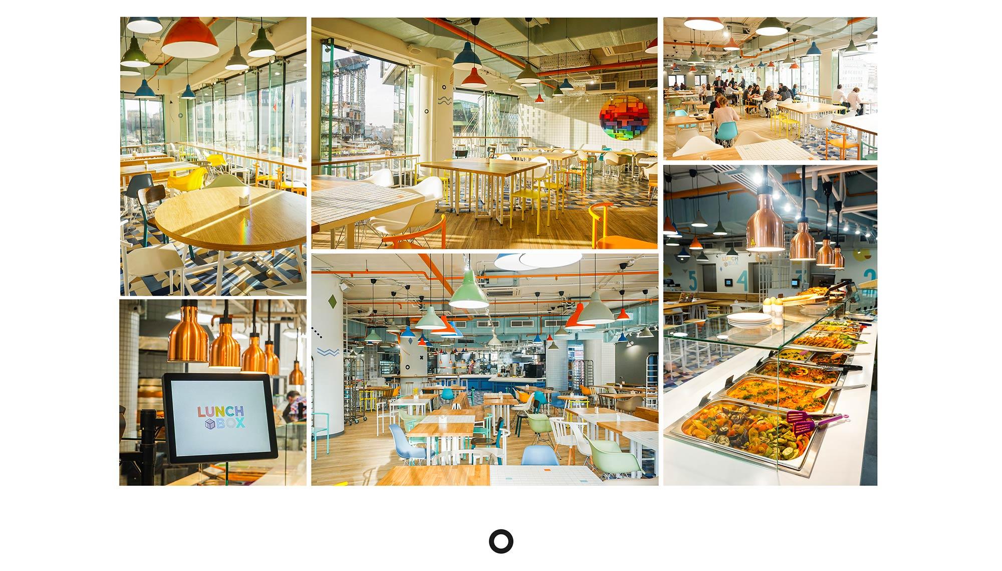 брендинг под ключ для кафе дизайн интерьера результат