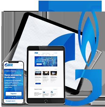 Редизайн сайта колледжа Газпром техникум