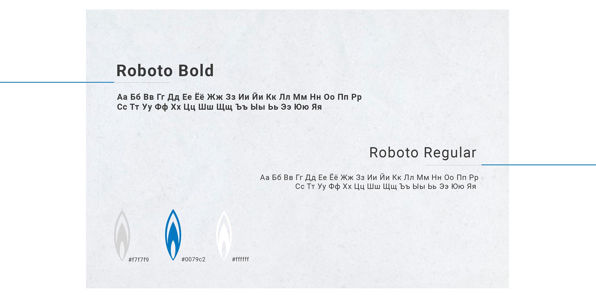 Редизайн сайта колледжа Газпром типографика и цветовая гамма сайта