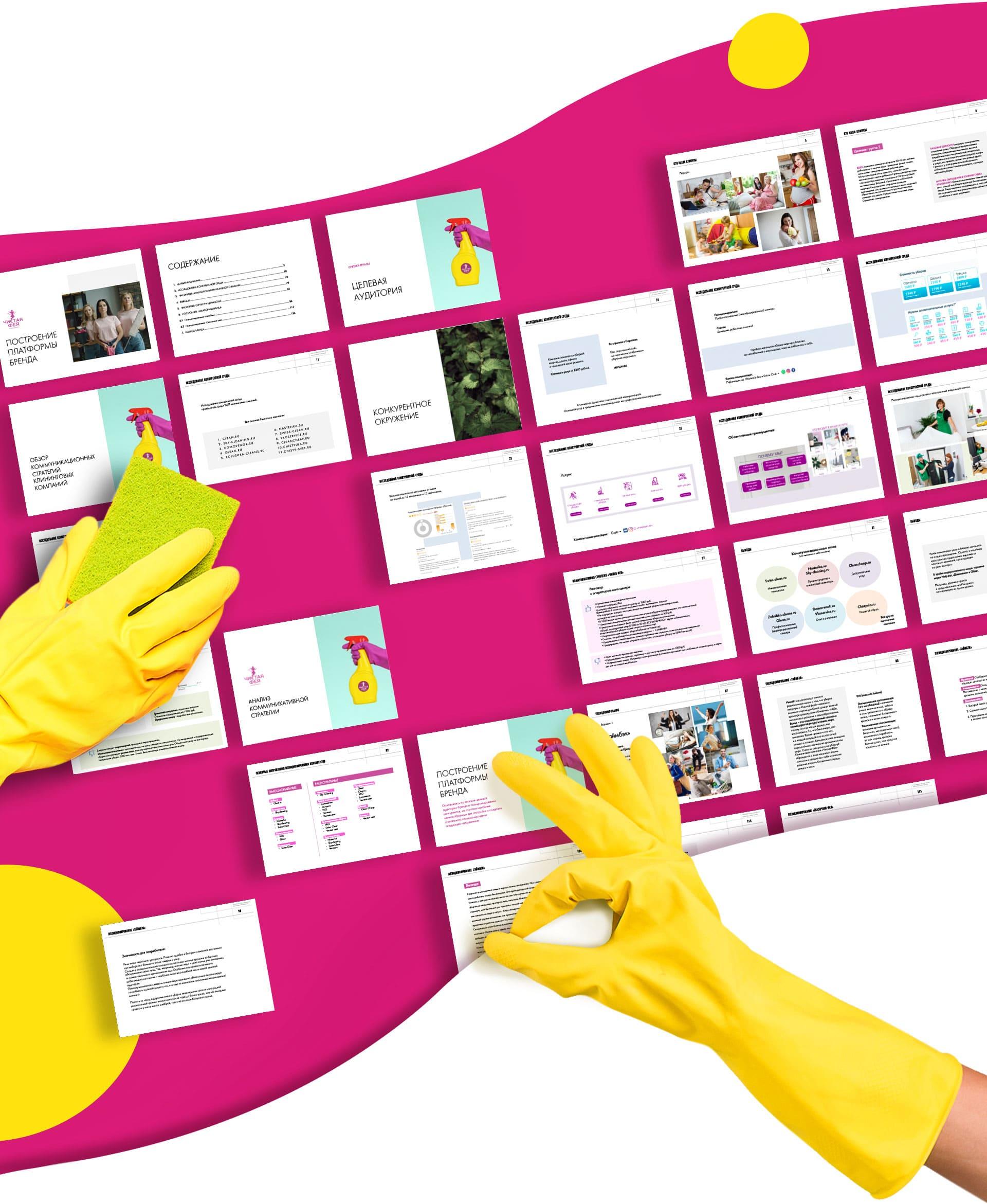 Платформа бренда клининговой компании - исследование и позиционирование бренда
