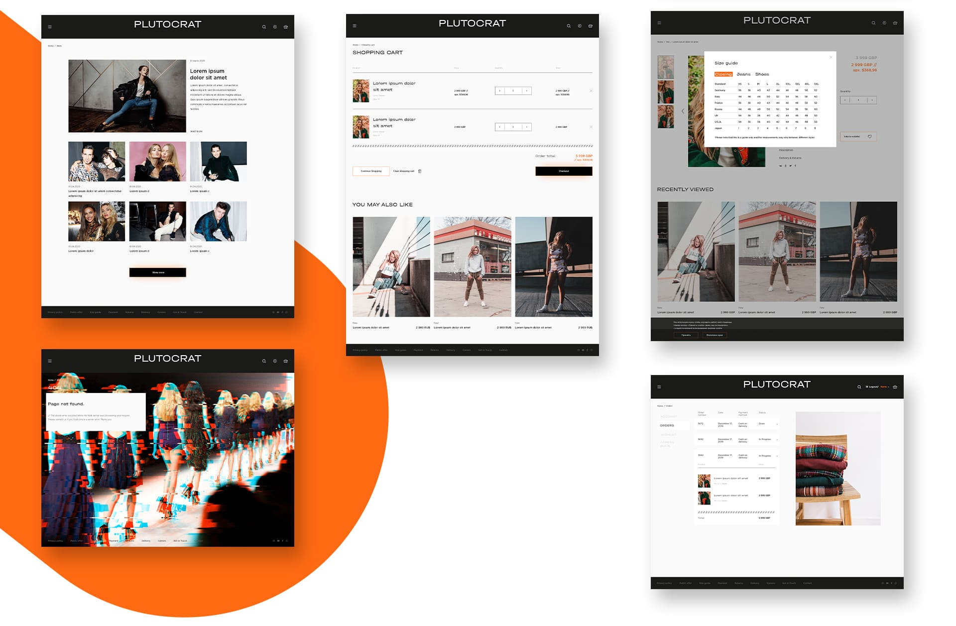 дизайн сайта интернет магазина презентация экранов