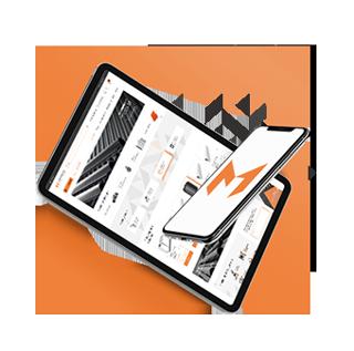 Иконка проекта Создание интернет магазина