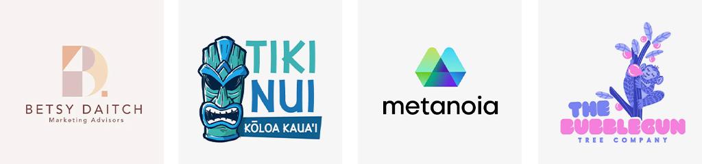 Тренды цвета дизайна логотипов 2021 аналоговые схемы