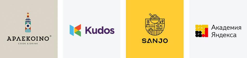 Тренды дизайна логотипов 2021 геометрические фигуры