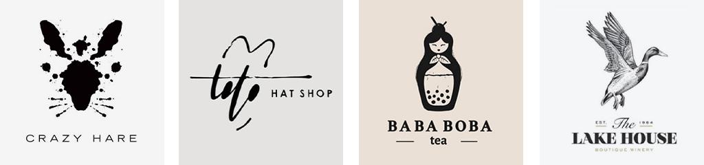 Тренды дизайна логотипов 2021 чернила