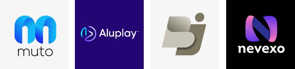 Градиенты в дизайне логотипов подборка трендов дизайна 2021