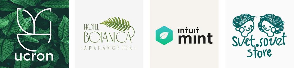 Тренды дизайна логотипов 2021 природа