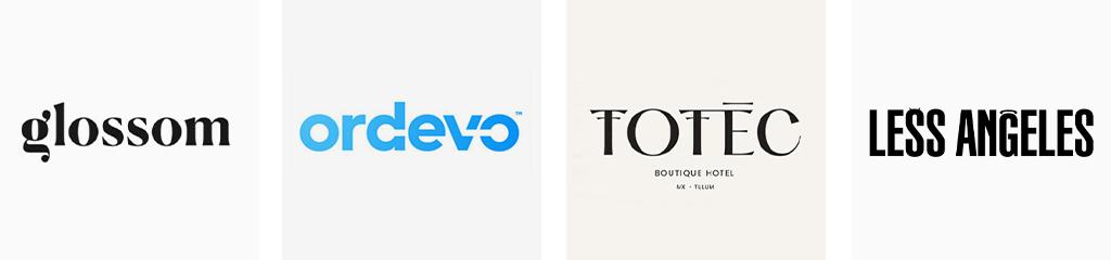 Тренды дизайна логотипов 2021 Wordmark
